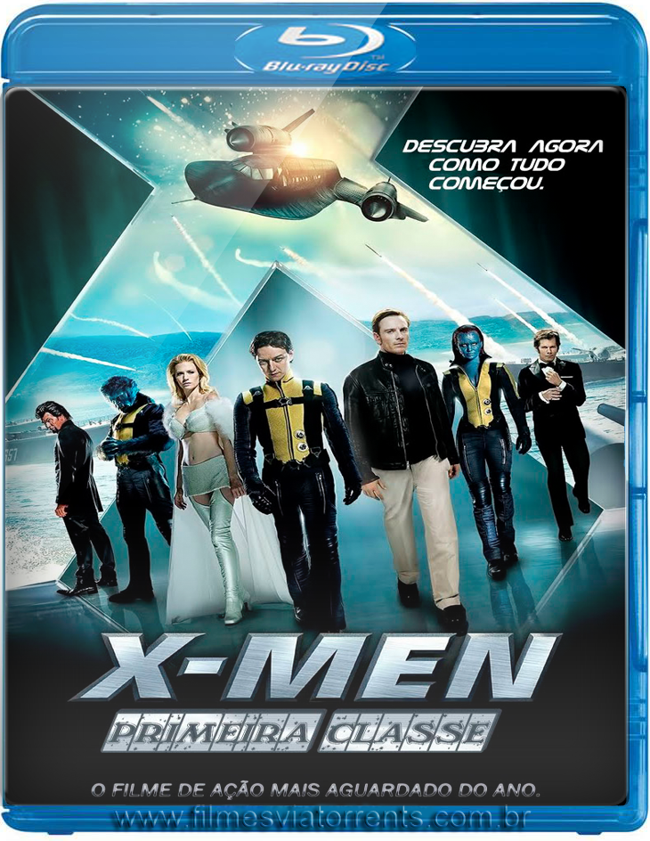 X-men Primeira Classe Torrent