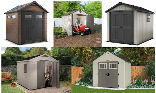 Plastic Sheds 8x8 - Let's Compare - Weather-Resistant Sheds
