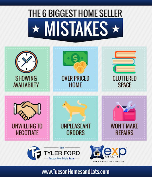 6 Biggest Home Seller Mistakes in Tucson Arizona