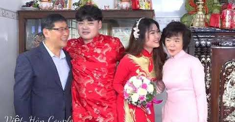 Đám cưới vợ Việt-chồng Hàn. Lễ Thành Hôn tại quê. Đám cưới miền Tây#4