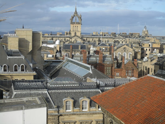The Little-Known Rooftop Terrace at the National Museum of Scotland