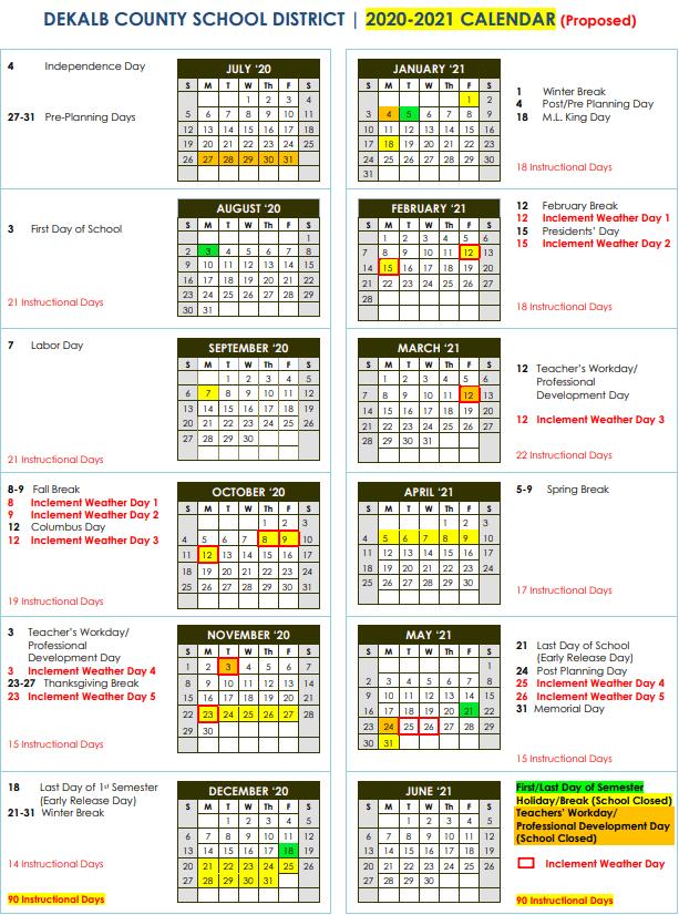 Denver Public Schools Calendar 2021 2022 | Printable March