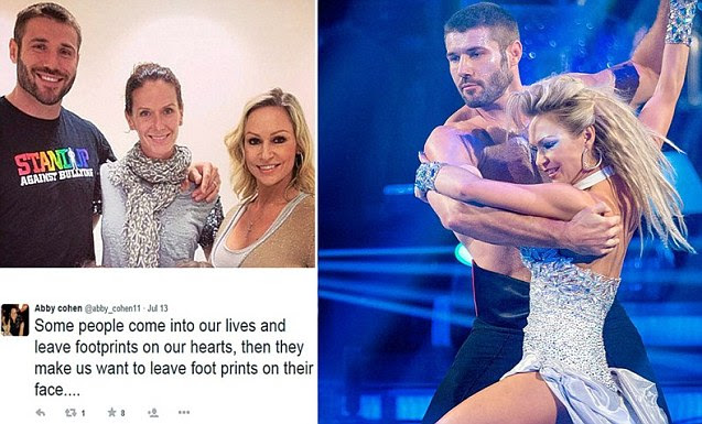 Ben Cohen admits relationship with Strictly Come Dancing partner Kristina Rihanoff