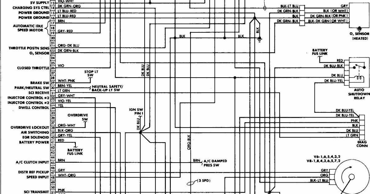 63 Impala Wiring Diagram Schematic