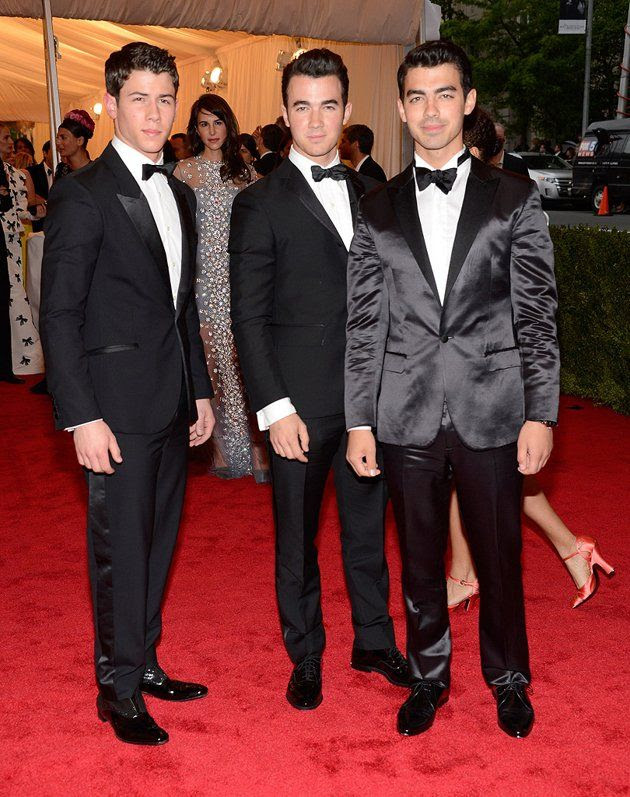 Costume Institute Gala Met Ball - May 7, 2012, Jonas Brothers