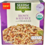Seeds of Change Brown & Red Rice with Chia & Kale - 6 count, 8.5 oz each