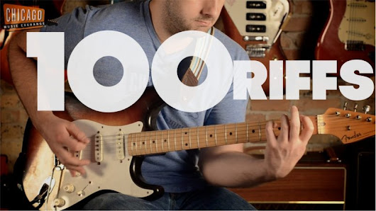 The History of Rock in 100 Guitar Riffs and 100 Bass Riffs
