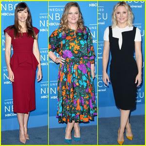 Jessica Biel, Kristen Bell, & More Attend NBCUniversal Upfronts in New York!