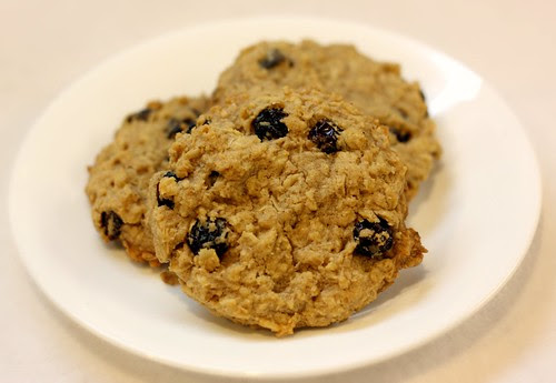 Egg-Free Oatmeal Raisin Cookies