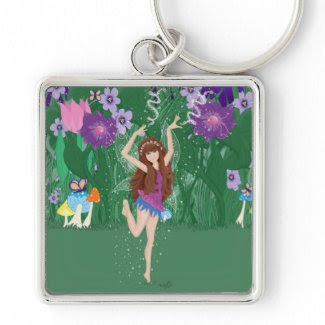 Jen the Dancing Flower Fairy Keychains