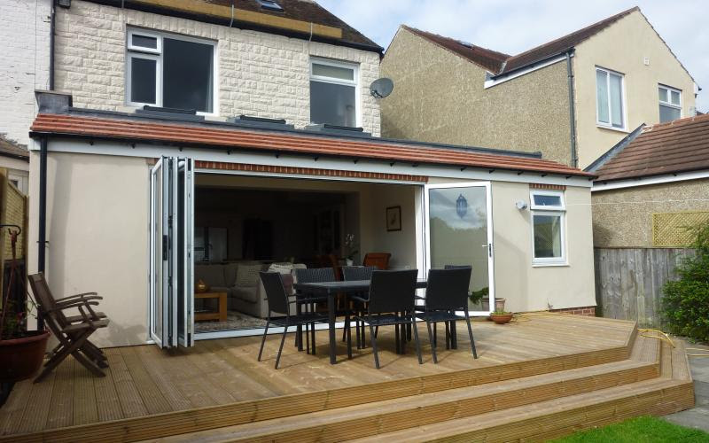 Rear Extension North Gosforth Newcastle Upon Tyne Blaydon Architectural Design