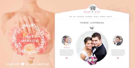 Here are 10 Best Wedding WordPress Themes You Can Try