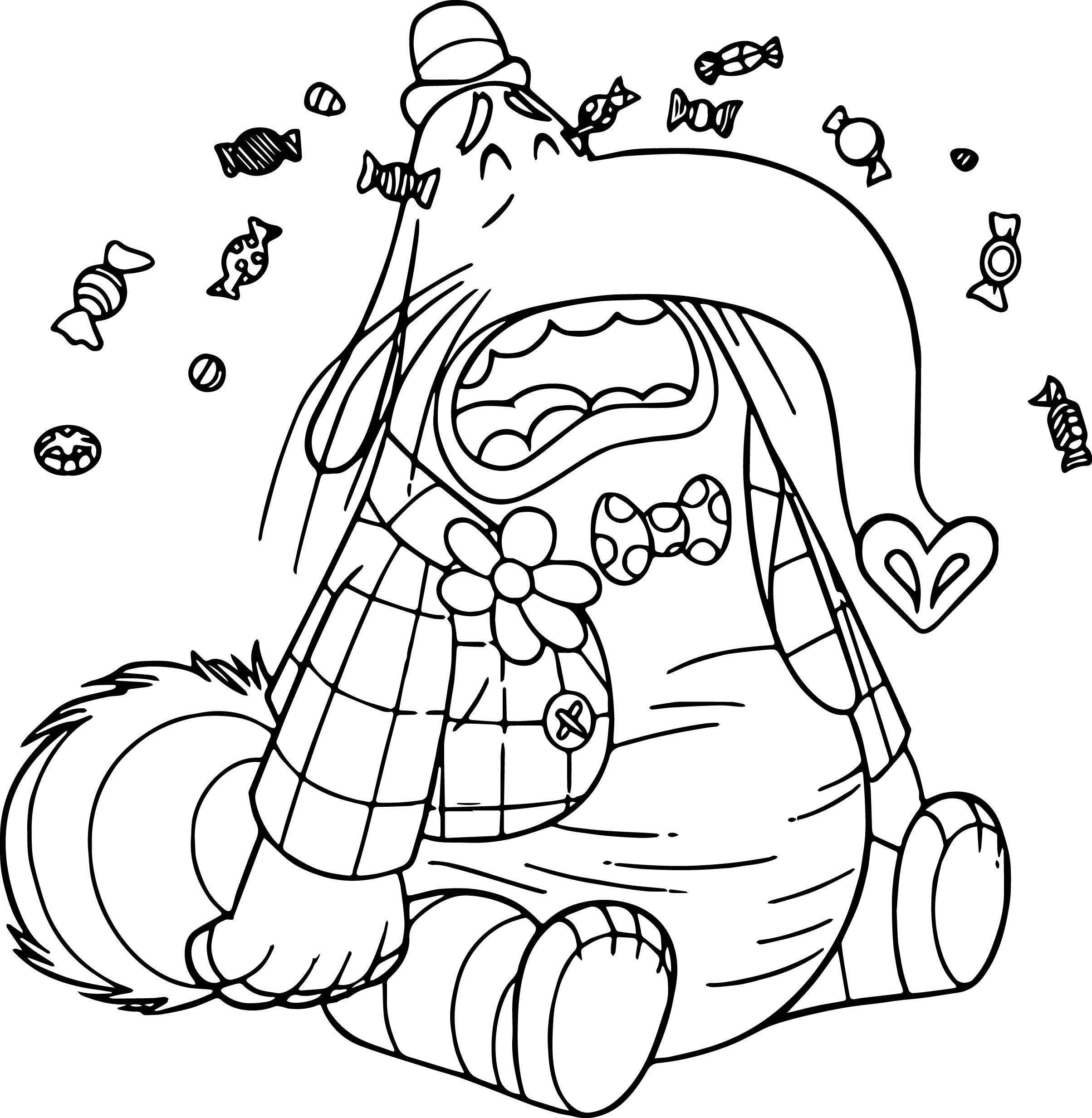 Bingbong Cry Coloring Pages   Wecoloringpage.com