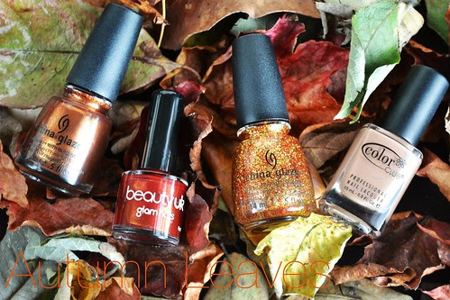 autumn fall nail polishes
