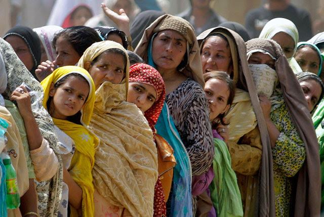 La sociedad pakistaní es una de las más tradicionales