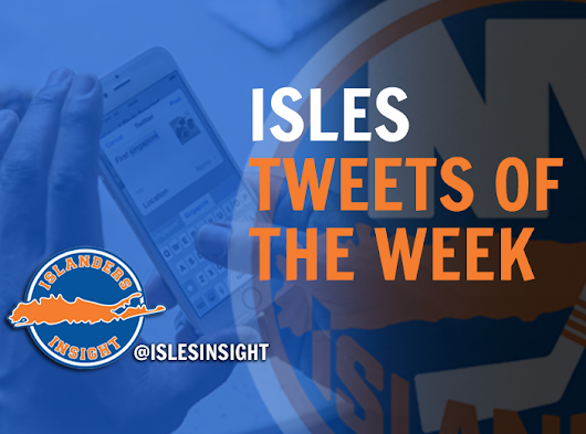 Islanders Tweets of the Week - 12/28 to 1/3