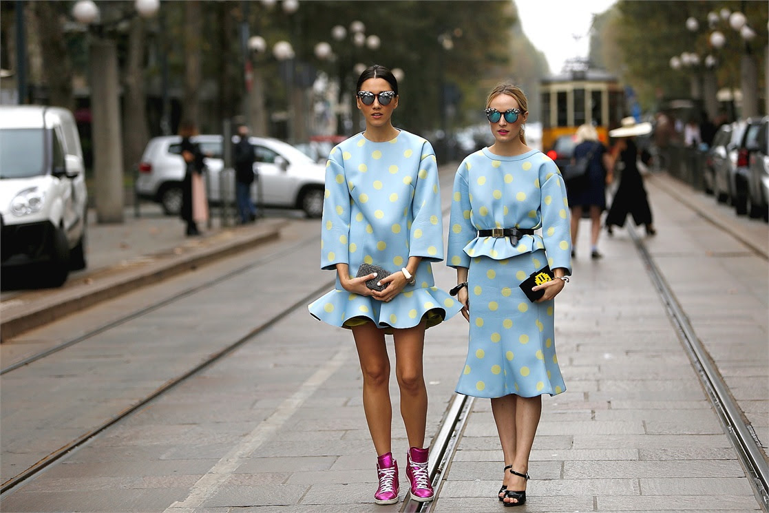 Voguistas From Milan Fashion Week