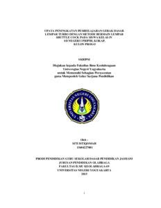 Contoh Skripsi Olahraga Contoh Soal Dan Materi Pelajaran 8