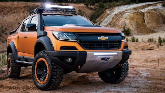 Here's A Chevy Colorado With Every Imaginable Off-Road Appurtenance