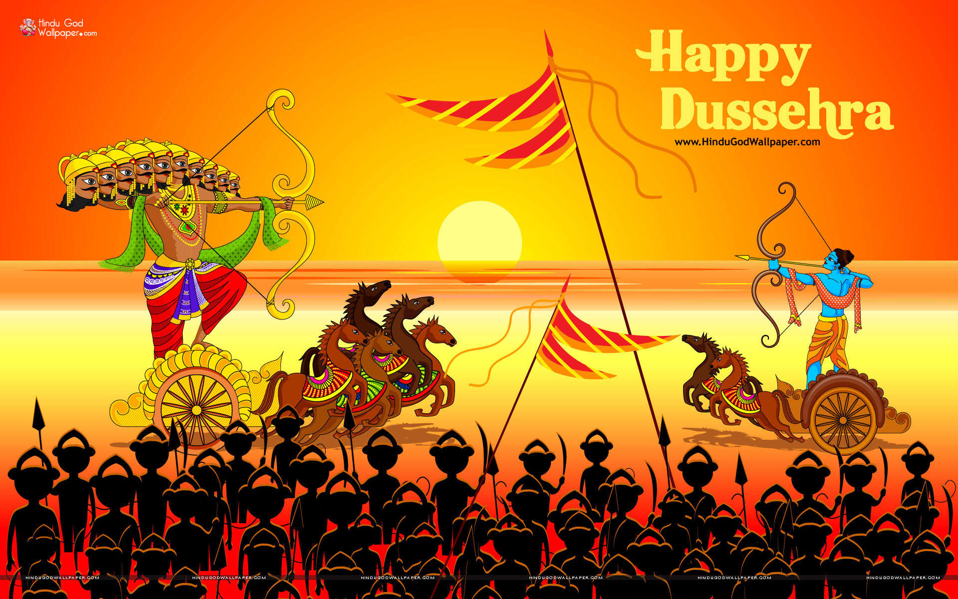 Happy Dussehra HD Wallpapers, Photos \u0026 Images Free Download