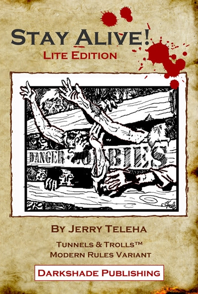 Stay Alive!: Lite Edition - Darkshade Publishing |  | Stay Alive!DriveThruRPG.com