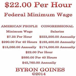 $22.00 Per Hour Federal Minimum Wage