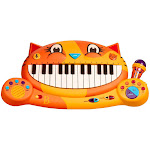 B. Toys Meowsic Keyboard, Toy Pianos and Keyboards