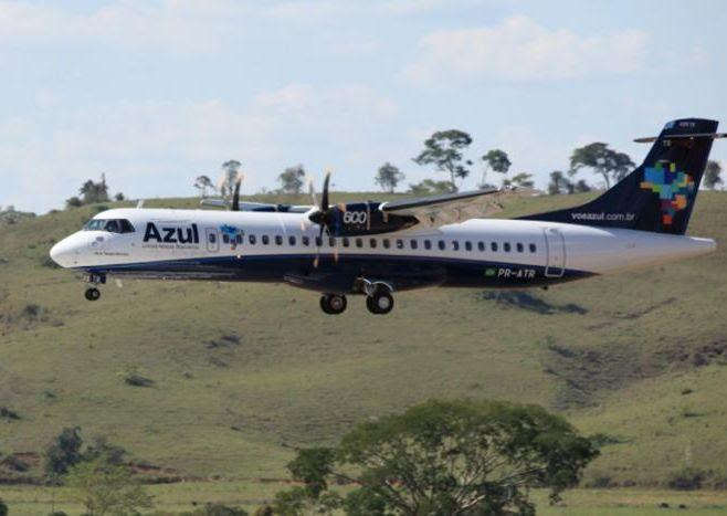 Azul divulga novos horários de voos das linhas Goiânia, Barra do Garças e Cuiabá