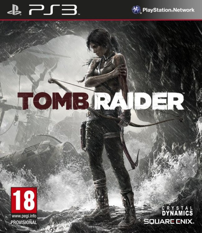 Här kommer Tomb Raiders box art