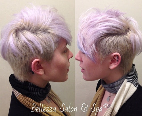 Mohawk-Inspired Pixie Haircut
