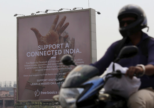 Net Neutrality Concerns Kill Facebook's Free Internet Plan in India