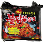 Samyang Ramen, Chicken Flavor, Hot, 5 Packs - 5 pack, 4.94 oz packs