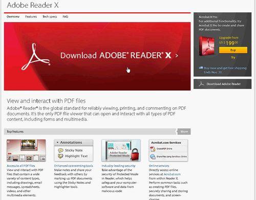 adobe reader x-01