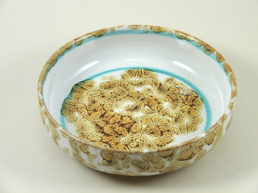 Spaghetti bowl... for bean or soup pasta plate by NovaEtruria