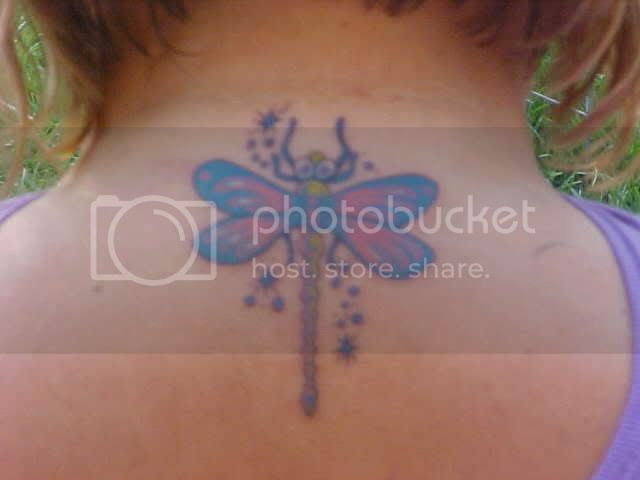 Beautiful Dragonfly Tattoos