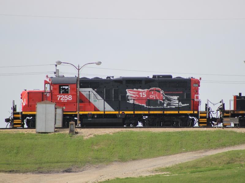 CN 7258 in Winnipeg
