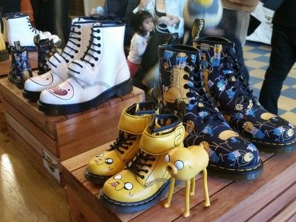 Tristin and Tyler Hosts Dr. Martens X Adventure Time Kids Footwear Launch