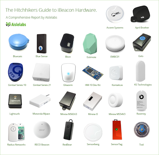 The Hitchhikers Guide to iBeacon Hardware: A Comprehensive Report by Aislelabs (2015) - Aislelabs