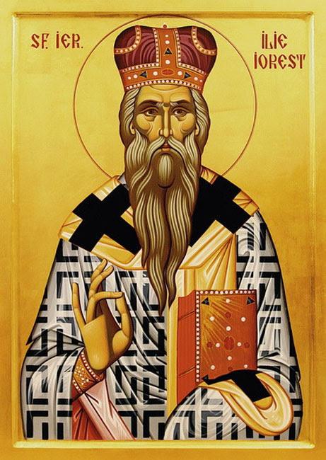 IMG  St. Elias [Elijah, Ilie] Iorest  Bishop of Transyvania, Confessor of Wallachian