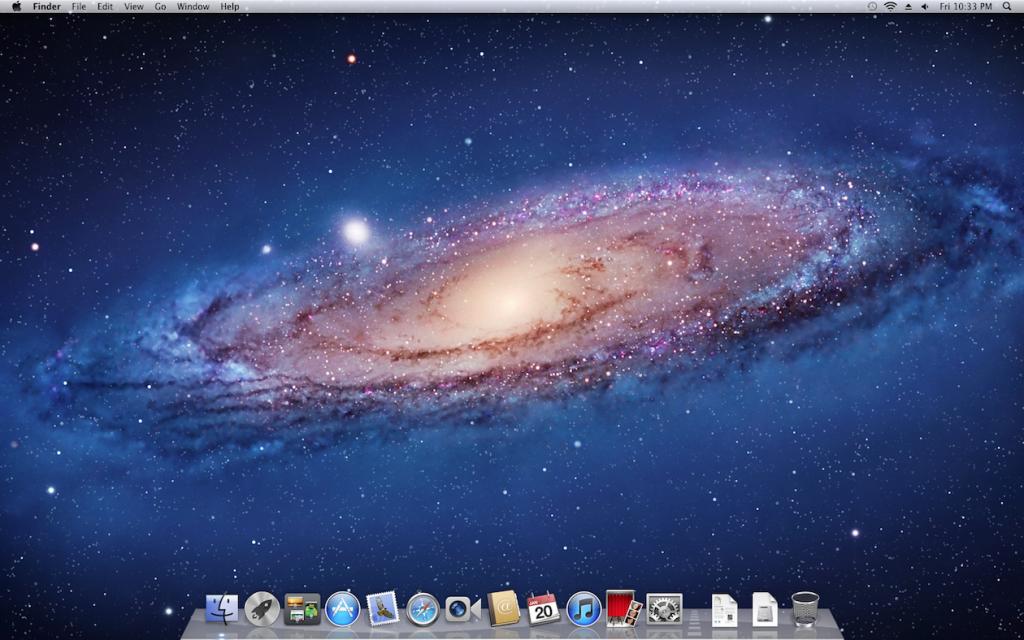 Lion's Desktop