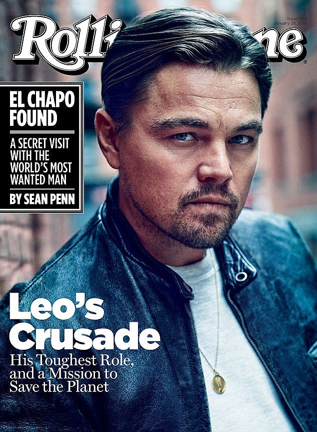 Terrifying moment! Leonardo DiCaprio, 41, graced the cover of the latest Rolling Stone magazine which hits stands on Friday, where he opened up about the close call where he nearly lost his life recently