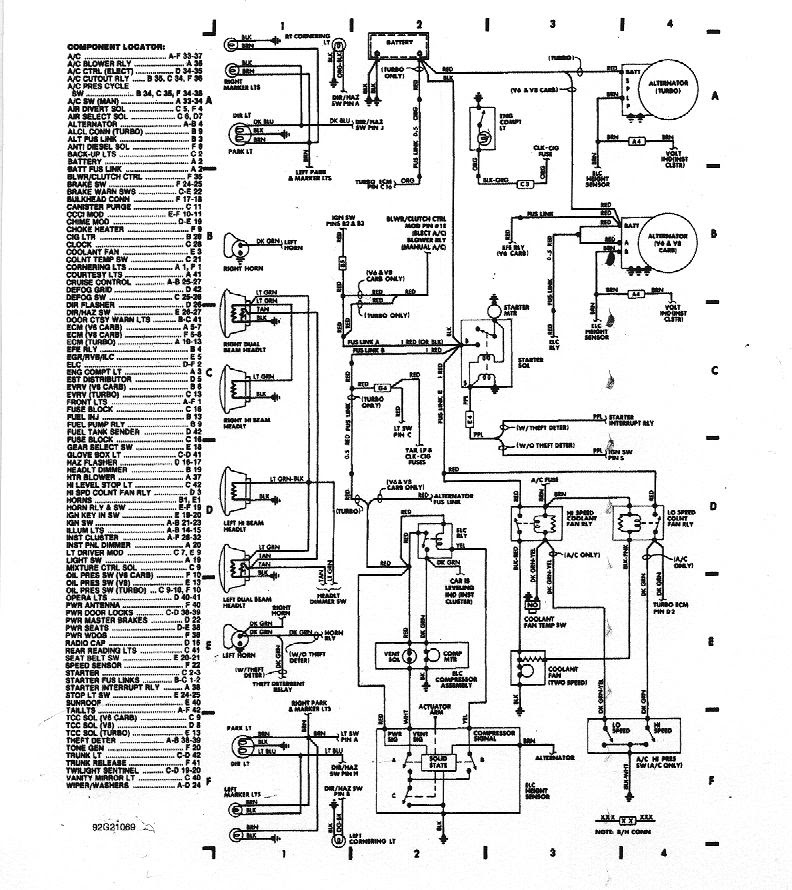 87 Grand National Wiring Diagram Wiring Diagram Motor A Motor A Frankmotors Es