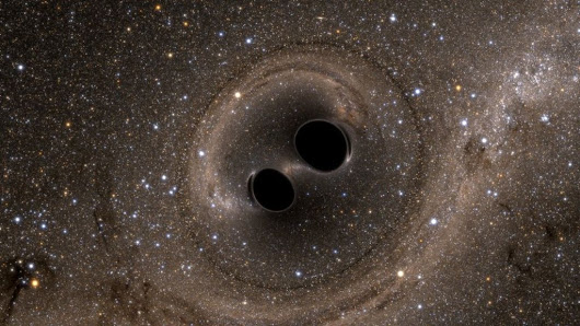 Einstein's gravitational waves 'seen' from black holes - BBC News