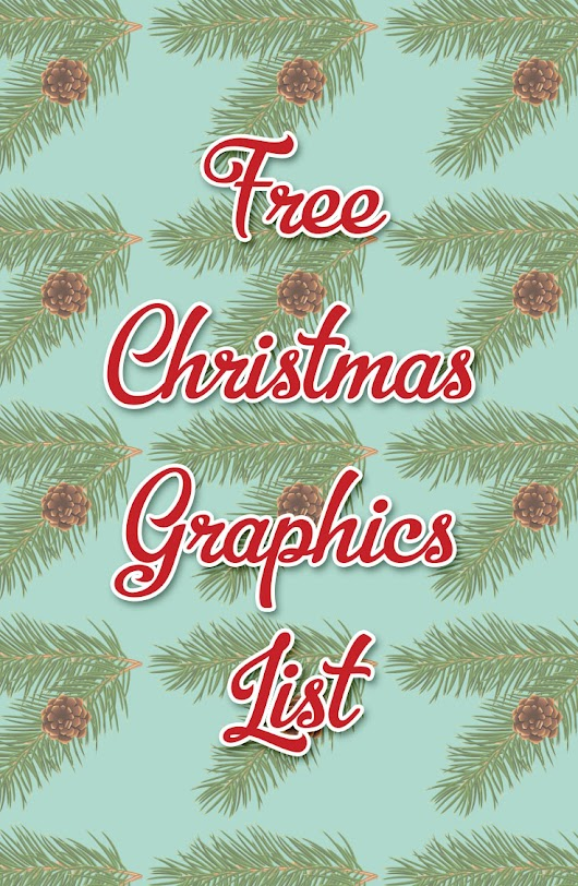 Your List To Free Christmas Graphics Part 1