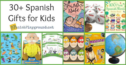Spanish Language Gifts for Kids and Teachers - Spanish Playground