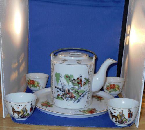 Japanese Tea Set Ebay