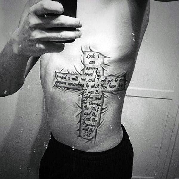 50 Bible Verse Tattoos For Men Scripture Design Ideas