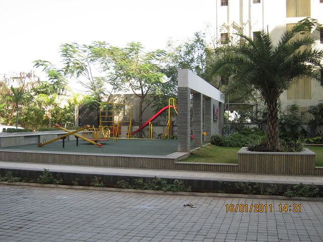 Play area of Orchid Towers, Ready Possession 2 BHK, 2.5 BHK, & 3 BHK Flats on Baner Road, Pune 411 045