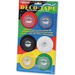 "Chartpak Deco Bright Decorative Tape, 1/8"" x 324"","