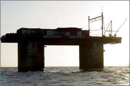 Sealand espera el mañana para su reconocimiento definitivo